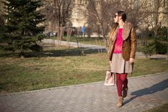 OOTD: Faux fur and purple accents Purple Accents, My Outfit, Faux Fur, Ootd, Outfits, Style, Fashion, Swag, Moda