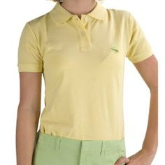 Nantucket Brand WPP-YG-S Pocomo Pique Polo- Yellow-Lt Green Logo Size S by Nantucket Brand. $45.00. Innovative - will enhance your well being.. A classic, 100% cotton pique polo shirt for those casual days. Solid ribbed collar and sleeve. 2 button placket. Straight hem with side vents. Embroidered logo on left chest. Custom Nantucket Brand buttons. Machine wash. Imported.. Save 23%!