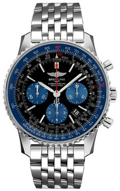 Brand New Limited Blue Edition Breitling Navitimer 01 Mens Luxury Watch Sale Breitling Superocean Heritage, Breitling Navitimer, Breitling Watches, Amazing Watches, Cool Watches, Men's Watches, Watch Master, Luxury Watches For Men, Watch Sale