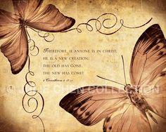 2 Corinthians 5:17 Scripture Art