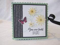 A place to share my cards and papercraft projects, Mostly using Stampin Up Products.......