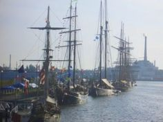Green Bay is one of only six ports in North America, and the only port in Wisconsin, to be honored as a host for the Tall Ship Festival.