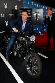 """Nestor Carbonell Pictures Playboy And A&E's """"Bates Motel"""" Event ..."""