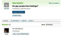 Do gay people have feelings?