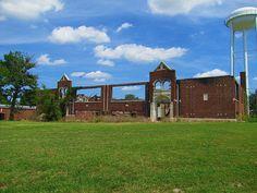 Disaster in Elk City, KS School's Out Forever, Elk City, School Building, High Schools, Brick Walls, Still Standing, The Locals, Kansas, Abandoned