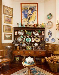 Ornate Organization - Lauren Bacall's Central Park Apartment + Estate  - Photos