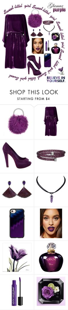 """""""PURPLE IS MY LIFE❣️💜💜👻"""" by snyacaa ❤ liked on Polyvore featuring Miu Miu, Swarovski, Silvia Furmanovich, Casetify, Christian Dior and Charlotte Russe"""