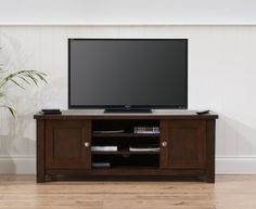 Sandringham Dark Oak TV Unit