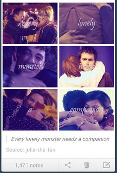 Every lonely monster needs a companion...