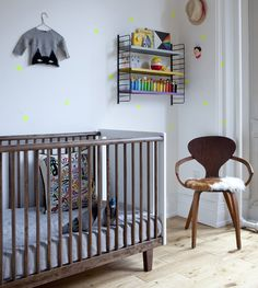 Unique and modern nursery design, perfect for the LEAF! #nunapinparty #modernfamilyhome