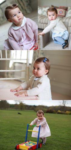 シャーロット英王女、1歳誕生日を前に新たな写真公開 - AFP #シャーロット英王女 #キャサリン妃 #ウィリアム王子