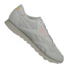 buy popular d8e84 de1ab Reebok Classic Nylon TXT Sneaker Damen Grau Gelb