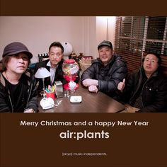 Merry Christmas and a happy new year from air:plants  JAPAN.
