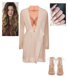"""""""Untitled #192"""" by ariadna25 ❤ liked on Polyvore featuring Forever 21 and Gianvito Rossi"""