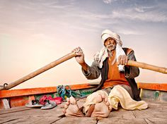 Boatman of Mathura Photograph by Andrew Louis Kleynhans, National Geographic Your Shot