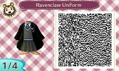 Ravenclaw QR code for Animal Crossing New Leaf.
