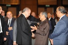 Perdana Menteri Turki, Recep Tayyip Erdogan pada Majlis Transforming Asia-Pacific and Turkey di Hotel Mandarin Oriental, Kuala Lumpur. - National - Events - My1Foto
