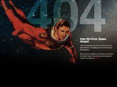 space man 404 page by Ben Jordan  -------------  Wil je minder 404's? of gewoon een betere website? Neem dan eens vrijblijvend contact op met Budeco http://budeco.nl/contact