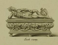Nieistniejacy sarkofag księcia Leszka Czarnego w Krakowie