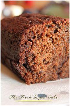 The fresh ginger cake (de David Lebovitz) – Mes brouillons de cuisine
