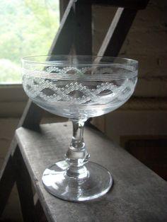 Coupes à champagne, Cristal de Baccarat