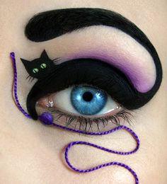 Literal Cat Eye Make Up