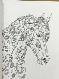 amazoncom the amazing world of horses 9781523394180 cindy elsharouni the amazingcoloring - Coloring Pages Horses Foals