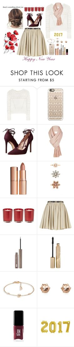 """""""376 (Happy 2017 🎉🎉)"""" by ridamahilv ❤ liked on Polyvore featuring Oscar de la Renta, Casetify, Massimo Matteo, Free People, Charlotte Tilbury, Forever 21, River Island, Urban Decay, Stila and Piaget"""