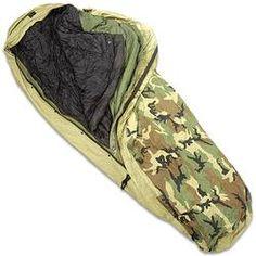 US ECWS Modular Sleep System -30 Degrees Bivy Patrol Bag Intermediate Bag Compression Sack