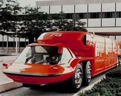 1964 General Motors Bison Concept: The Future Looked So Awesome! General Motors, Cool Trucks, Big Trucks, Station Wagon, Colani, Weird Cars, Vintage Trucks, Hot Cars, Motorhome