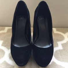 MY DELICIOUS SHOES Worn | black velvet | comes with original box My delicious shoes Shoes