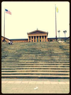 """""""Rocky steps"""" and the Philadelphia Museum of Art"""