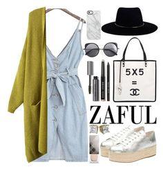 """Zaful"" by oshint ❤ liked on Polyvore featuring Wanderlust + Co, Miu Miu, Chanel, Bobbi Brown Cosmetics, Wood Wood, Zimmermann, Uncommon, Burberry and zaful"