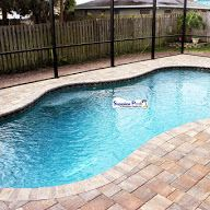 Superior Pools Pavers With Grey Reef Cli Pebble