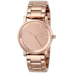 DKNY Women's NY2179 Soho Rose Gold Tone Watch | Overstock.com Shopping - Big Discounts on DKNY DKNY Women's Watches