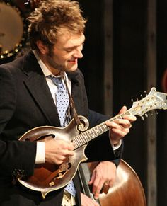 Chris Thile (Photo by Brian Tipton)- Love the way he plays that mandolin