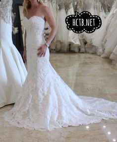 New Wedding Dress at Here Comes the Bride in San Diego California