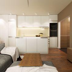 Interior study during the summer holidays. Kitchen Cabinets, Behance, Study, Holidays, Architecture, Gallery, Interior, Summer, Design