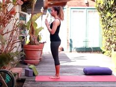 {VIDEO! } how-to #Yoga: Sun Salutation A by LEAFtv