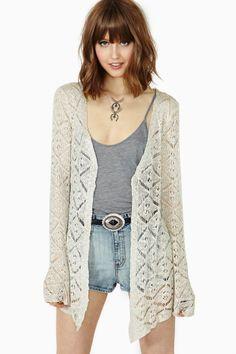 Free Spirit Crochet Cardi