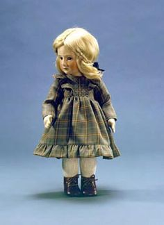 "Hannah. 17"" molded felt, fully jointed. Date of Release: 1981-84. Series I, Ltd. Ed. 250."