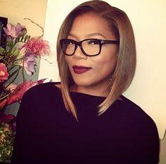 Cute Short Hairstyle African American Women Short-A-line-Bob-Cut