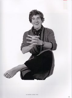 Ian McKellen by Patrick Lichfield, 1969