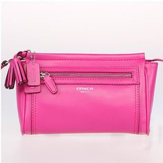 These are the best wristlets! They hold tons of things with room to spare, but still small enough to carry around easily.