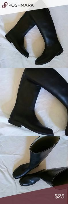 Derby Riding Boots Sz 3.5 Rubber.. Preowned Derby Shoes Winter & Rain Boots