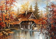 Stanislaw Wilk e um pintor polonês.