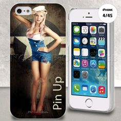 Coque iphone 4 pin up vintage sur www.etui-iphone.com #coque #iphone4 #pinup
