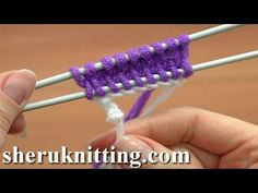 Knit The Crochet Provisional Cast On Tutorial 1 Part 17 of 18 Cast On Methods in Knitting - YouTube