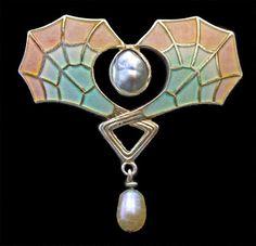 jugendstil jewelry -