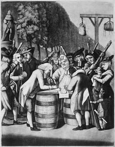 Colonial Reaction to Imposed Taxes and Regulations